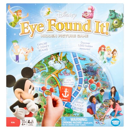 Disney Wonder Forge Eye Found It Hidden Picture Game Kids Age 4+