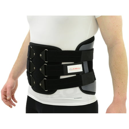 ITA-MED Back Support Lumbo-Sacral Orthosis (Chair Back): LSO-981