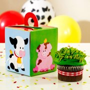 Barnyard Cupcake Boxes, 4pk