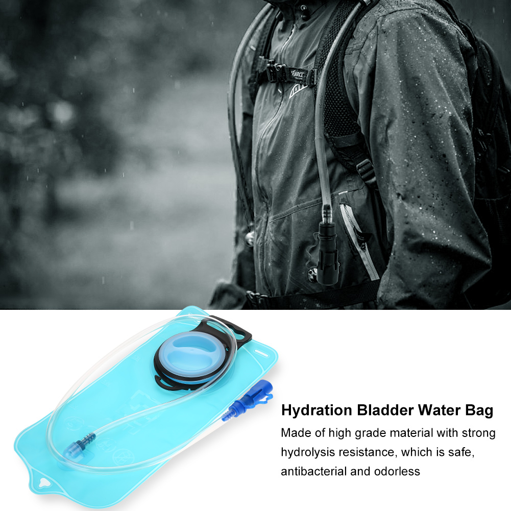 Outdoor 2L Hydration Bladder Water Bag Sports Accessory for Hiking Cycling Camping,Hydration Bladder Bag, Hiking Hydration Bladder Bag