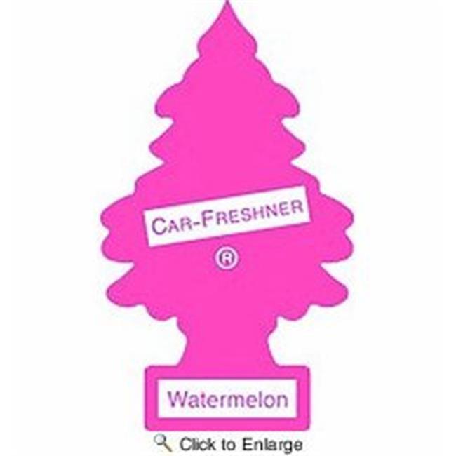 Car Freshner C15-U3S32020 Watermelon Little Air Freshener, Pack of 3