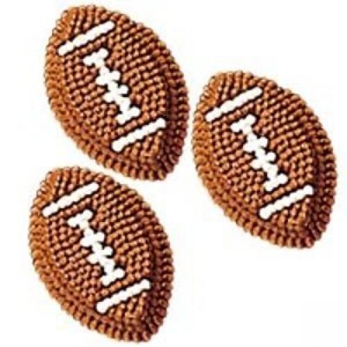 Wilton Icing Decorations - Football