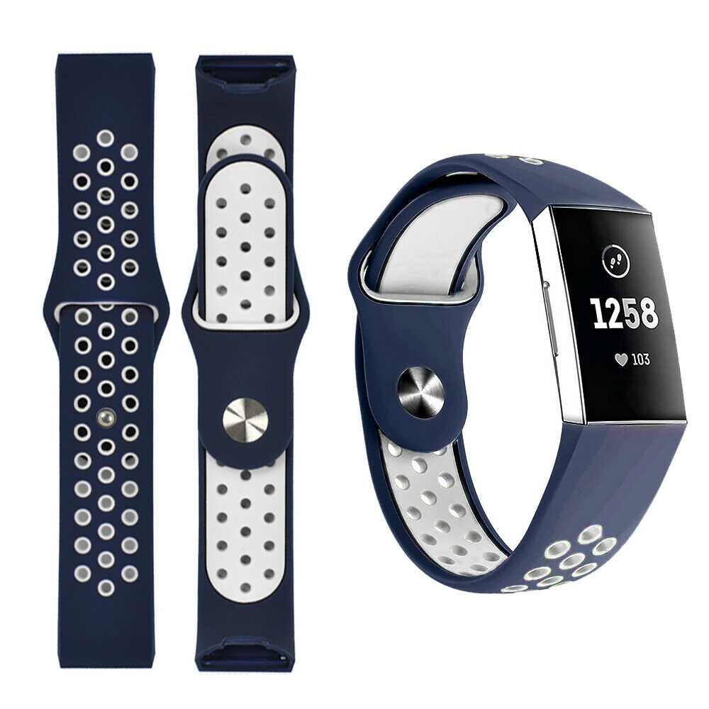 Chrge 3 SE Sport Silicone Replacement Sports Band Bracelet For FitBit Chrge 3