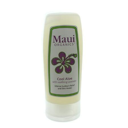Maui Organics Cool Aloe Intense Sunburn Relief and Skin Healer 4.5