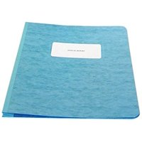 ACCO PRESSTEX Report Cover, Side Bound, Tyvek Reinforced Hinge, 8.5 Inch Centers, 3 Inch Capacity, Letter Size, Light Blue (A7025072A), Durable 20.., By ACCO Brands