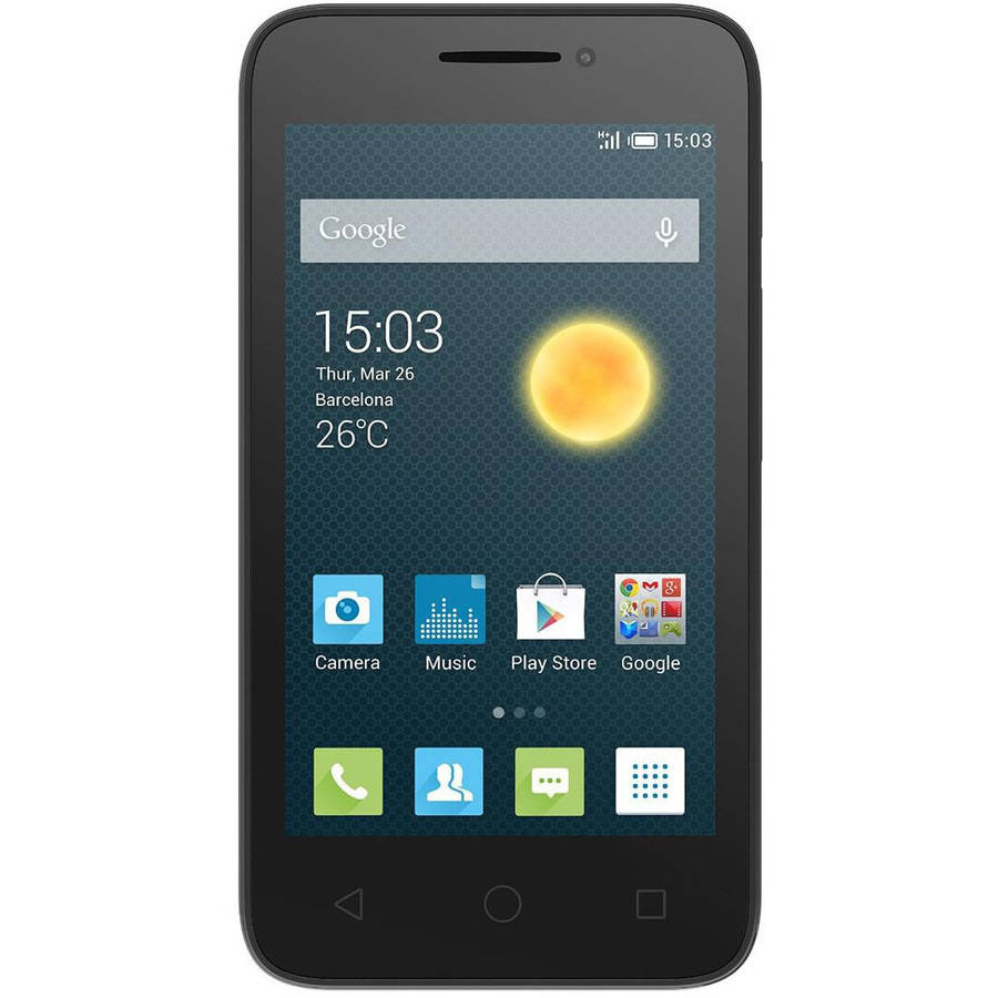 """Alcatel OneTouch Pixi 3 4.5"""" 3G GSM Android Smartphone (Unlocked)"""