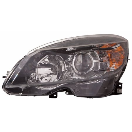 Go-Parts » 2008 - 2011 Mercedes-Benz C350 Front Headlight Headlamp Assembly Front Housing / Lens / Cover - Left (Driver) Side - (204.056 Body Code + 204.087 Body Code) 204 (Mercedes Benz Axle Assembly)