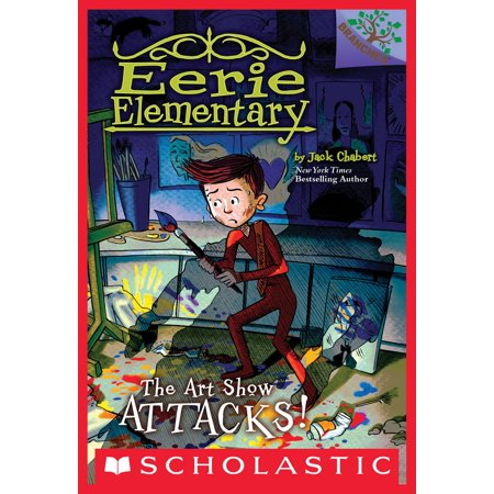 The Art Show Attacks!: A Branches Book (Eerie Elementary #9) - eBook - Halloween Elementary Art Projects
