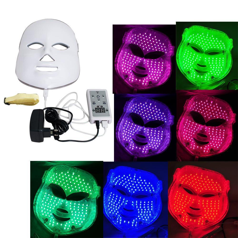 Skin Rejuvenation Light Therapy Reduces Wrinkles 7 Colors...