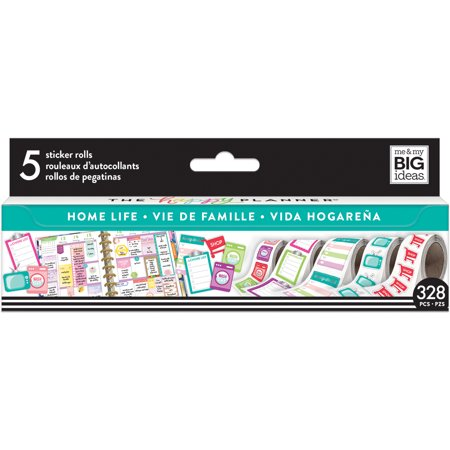 Happy Planner Sticker Roll-Home Life