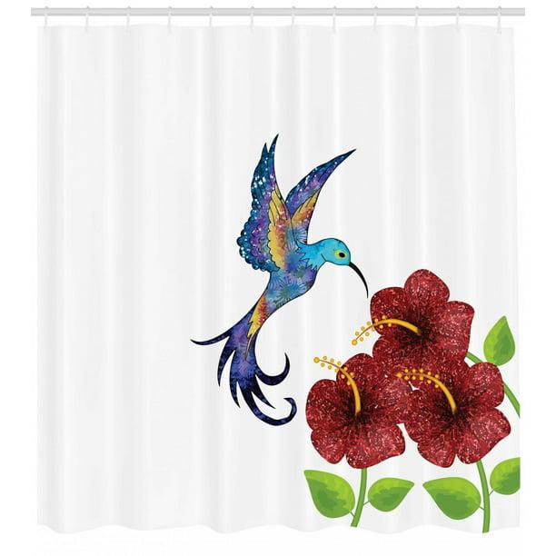 Hummingbird Shower Curtain A