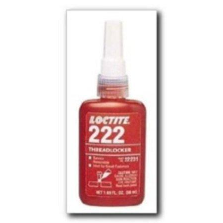 Loctite 38653 Threadlocker 222 Low Strength