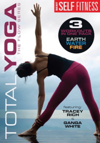 TOTAL YOGA-FLOW SERIES EARTH FIRE WATER (DVD) (DVD) by Mill Creek Entertainment