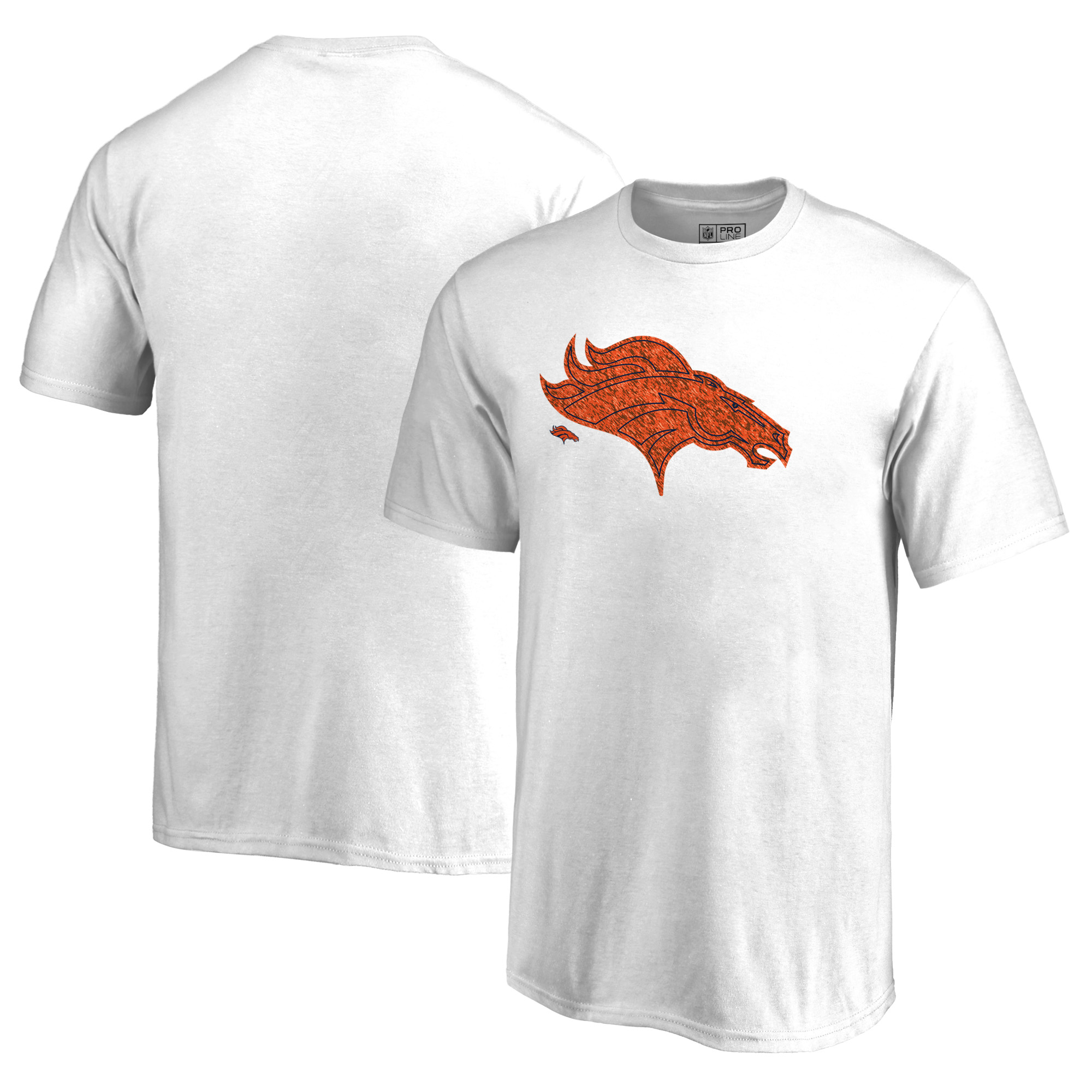 Denver Broncos NFL Pro Line by Fanatics Branded Youth Training Camp Hookup T-Shirt - White