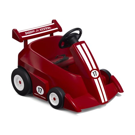 Radio Flyer, Grow With Me Racer, 6V Battery Powered Ride-On, Remote - Electric Park Flyer