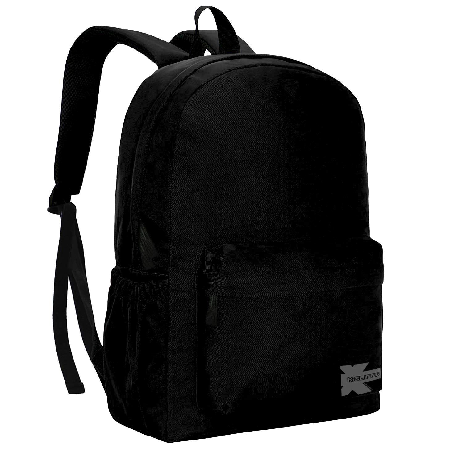 White Horse in the Winter Woods Black School Backpack /& Pencil Bag