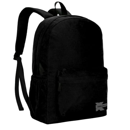 Classic Backpack High Quality Basic Bookbag Simple Student School Bag Lightweight Water Resistant Durable Daypack Black - Pokemon Bookbag