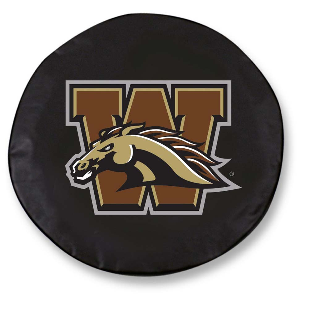 Western Michigan Standard Tire Cover (Black)