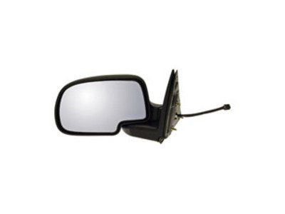 Comanche Black Fit System Passenger Side Mirror for Jeep Cherokee//Wagoneer Spring Loaded Manual Remote