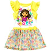 Dora The Explor Ap Dora Toddler Girl Dress
