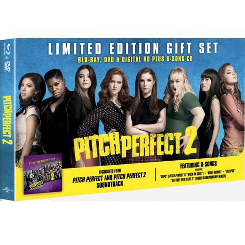 Pitch Perfect 2 (Blu-ray + DVD + Digital HD + Music Soundtrack) (Walmart Exclusive) (With INSTAWATCH)