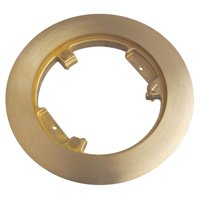 STEEL CITY P 60 CP Floor Box Cover Plate,11/16 In L,Brass