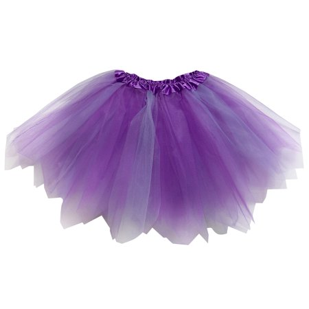 So Sydney Adult Plus Kids Size PIXIE FAIRY TUTU SKIRT Halloween Costume Dress Up - Plus Size Fairy