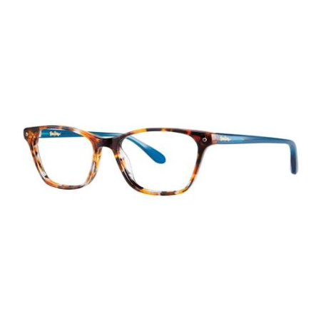 LILLY PULITZER Eyeglasses WHITING Tiger Tortoise 49MM