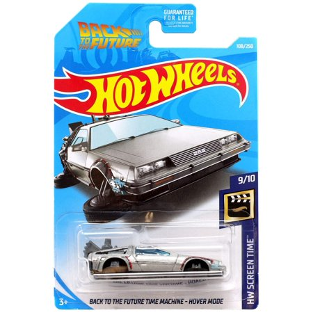 Hot Wheels 2019 HW Screen Time Back to The Future Time Machine Hover Mode