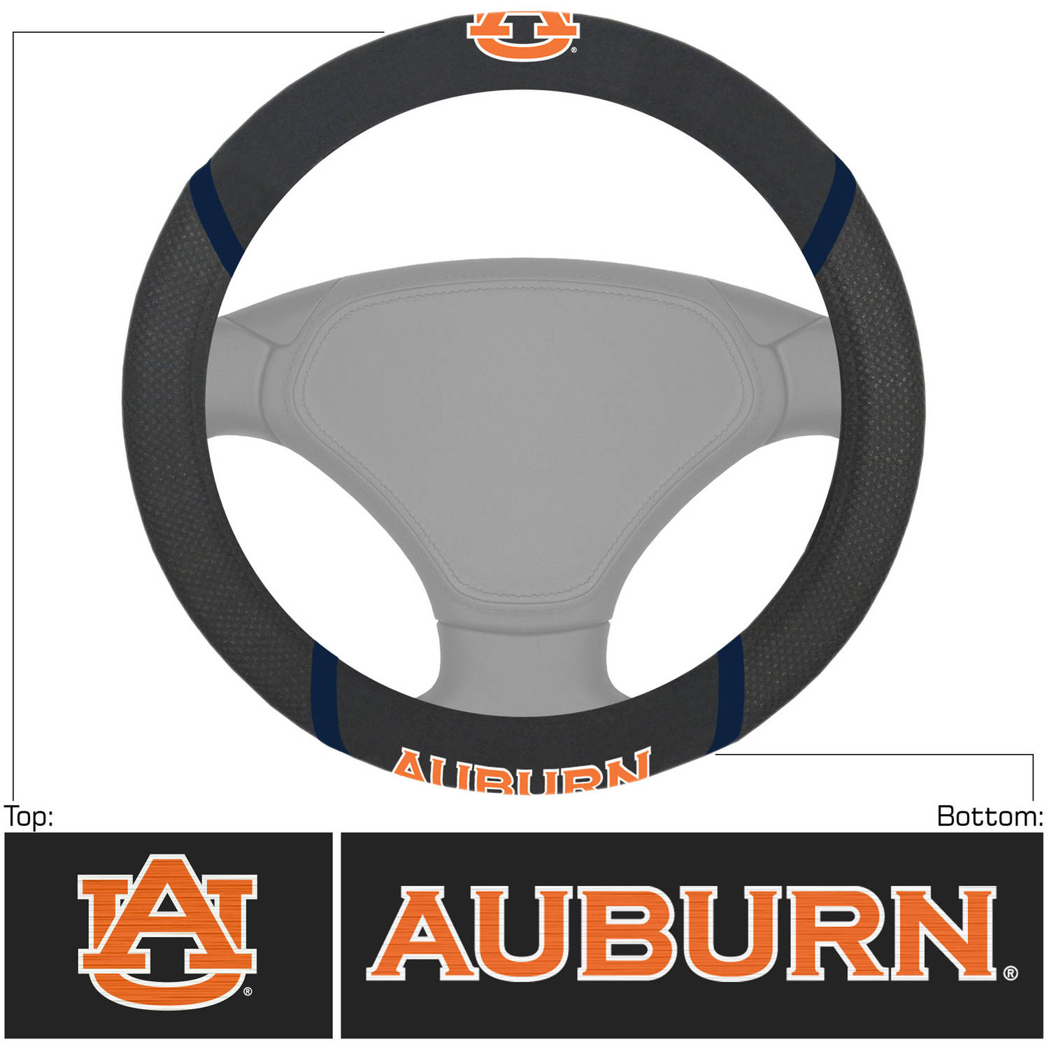 Auburn University Steering Wheel Cover