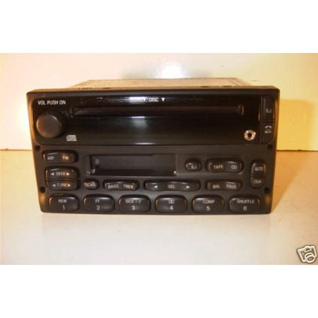 - Ford Radio AM FM CD Cassette part number 2F2T-18C868-AA Upgraded with IPOD Input - Refurbished