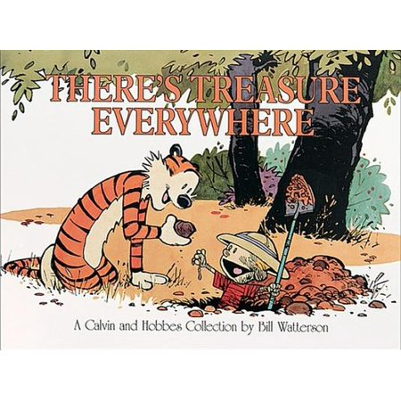 There's Treasure Everywhere : A Calvin and Hobbes Collection - Halloween Comic Strips Calvin And Hobbes