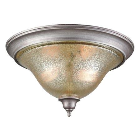 Georgetown 2 Light - Thomas Lighting Georgetown 2 Light Mercury Flush Mount Ceiling Light