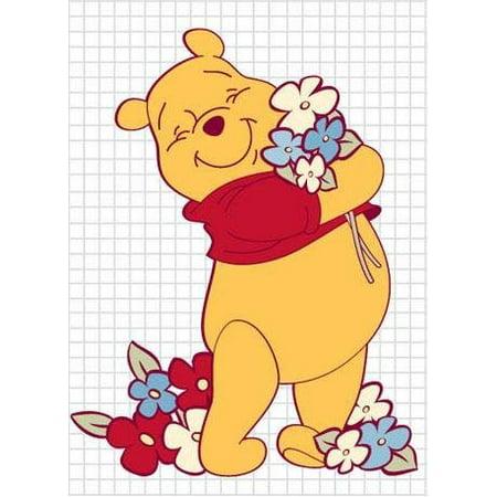 Winnie the Pooh Screen Saver - Flowers