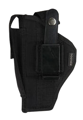 "Bulldog FSN19SC Extreme Pistol Belt Loop & Clip Mini Semi-Auto 2"" Barrel Auto w/Laser or Light Nylon Black"