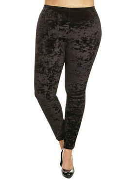 ad0c24f17ba Product Image Crushed Velvet Plus Size Leggings For Women