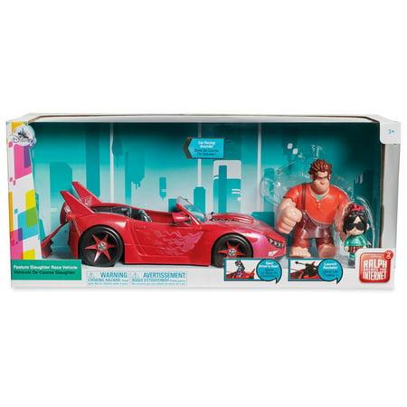 Box Race (Disney Ralph Breaks the Internet Feature Slaughter Race Vehicle Set New w Box)