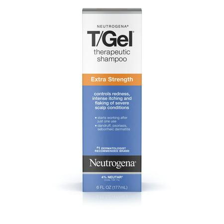 Neutrogena T/Gel Extra Strength Therapeutic Dandruff Shampoo, 6 fl.