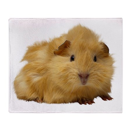 CafePress - Guinea Pig Gifts - Soft Fleece Throw Blanket, 50