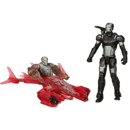 Marvel Avengers Age of Ultron War Machine Vs. Sub-Ultron 006 Figure (Avengers Age Of Ultron Gag Reel Full)