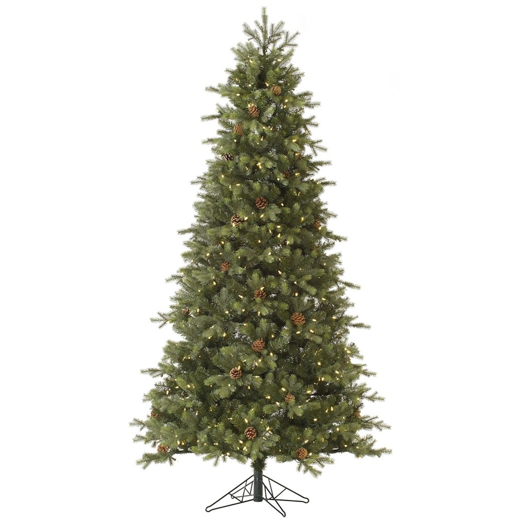 "Vickerman 36538 - 12' x 73"" Slim Rocky Mountain Fir 1,600..."