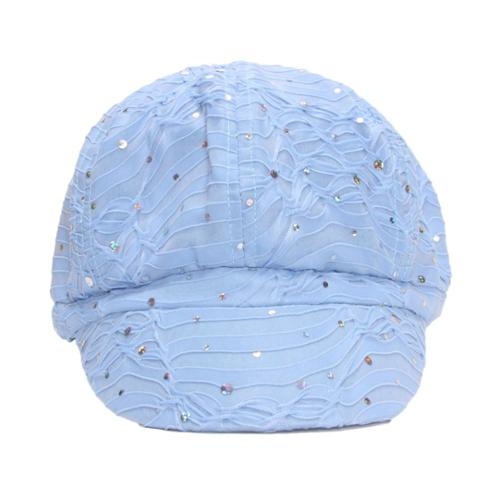 TopHeadwear Glitter Sequin Trim Newsboy Hat