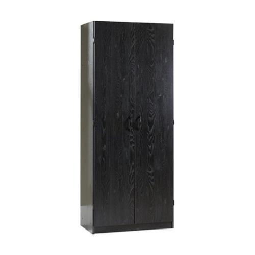 Sauder Storage Cabinet - Ebony Ash