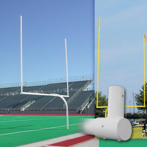 Alumagoal Official High School Gooseneck Goalpost