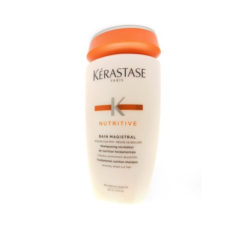 Kerastase Nutritive Bain Magistral Shampoo, 8.5 (Kerastase Nutritive Bain Oleo Curl Shampoo 34 Oz)