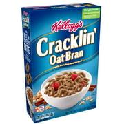 Kellogg's Cracklin' Oat Bran Breakfast Cereal, Original, 17 Oz