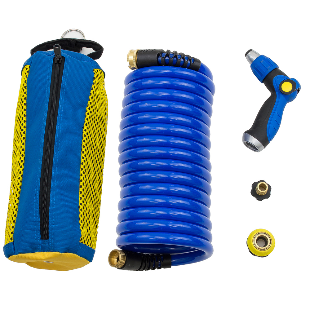 HOSECOIL STORAGE SYSTEM WITH  20' HOSE & WN810U NOZZLE