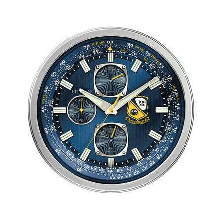 Citizen  Gallery Blue Resin Wall Clock (Citizen Wall Clock)
