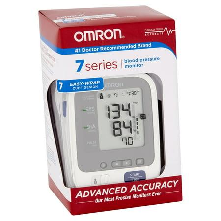Omron 7 Series Wrist Blood Pressure Monitor Automatic BP652N 1 Each (One