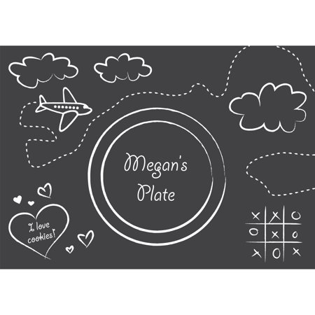 Chalkboard Placemats, 8-Pack